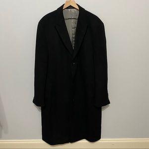Calvin Klein Cashmere Blend Coat Size 46